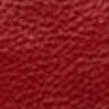 Poppy Red Natural Leather